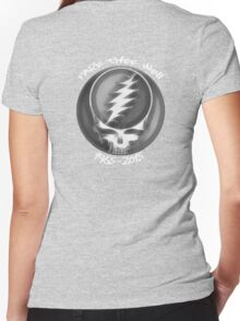 """Grateful Dead """"Fare Thee Well"""" 50th Anniversary Steal Your Face GD50 Women's Fitted V-Neck T-Shirt"""