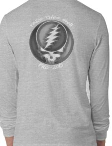 "Grateful Dead ""Fare Thee Well"" 50th Anniversary Steal Your Face GD50 Long Sleeve T-Shirt"