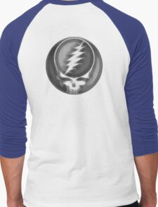 "Grateful Dead ""Fare Thee Well"" 50th Anniversary Steal Your Face GD50 Men's Baseball ¾ T-Shirt"