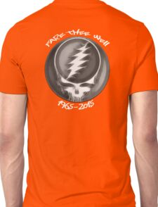"""Grateful Dead """"Fare Thee Well"""" 50th Anniversary Steal Your Face GD50 Unisex T-Shirt"""