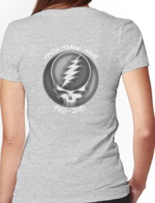 "Grateful Dead ""Fare Thee Well"" 50th Anniversary Steal Your Face GD50 Womens Fitted T-Shirt"