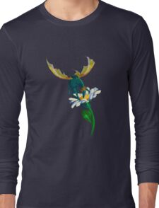 Breakfast of dragon-butterfly Long Sleeve T-Shirt
