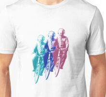 Albert Einstein by bike Unisex T-Shirt