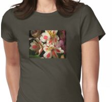 Alstroemeria Womens Fitted T-Shirt