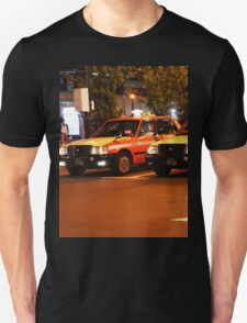 Taxi in Tokyo Unisex T-Shirt