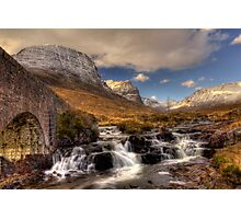 Russell Burn and the Bealach na Ba Photographic Print