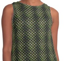 Green Reptile scales Contrast Tank