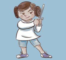 Backyard Star Wars - Princess Leia One Piece - Short Sleeve