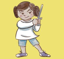 Backyard Star Wars - Princess Leia Baby Tee