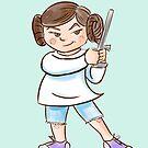 Backyard Star Wars - Princess Leia by Patricia Lupien