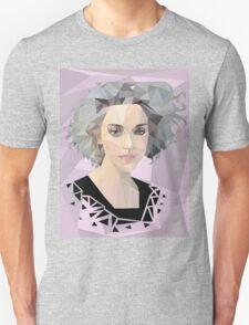 Annie Clark - St. Vincent - low poly geometric portrait Unisex T-Shirt