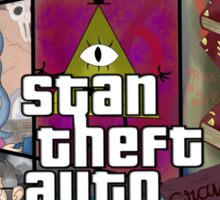 Stan Theft Auto Sticker