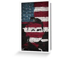 Reese US Flag | Person of Interest Greeting Card