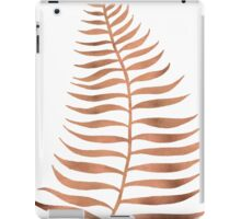 Palm Leaf – Rose Gold iPad Case/Skin