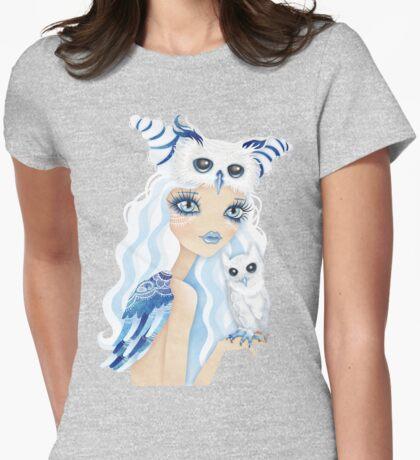 Owl Duchess Womens Fitted T-Shirt