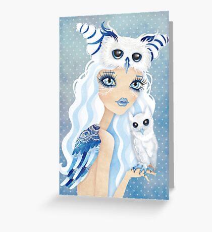 Owl Duchess Greeting Card