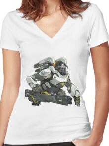 Winston! Women's Fitted V-Neck T-Shirt