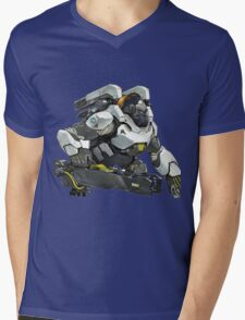 Winston! Mens V-Neck T-Shirt