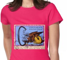 Alice in Wonderland and Through the Looking Glass Alphabet G Womens Fitted T-Shirt