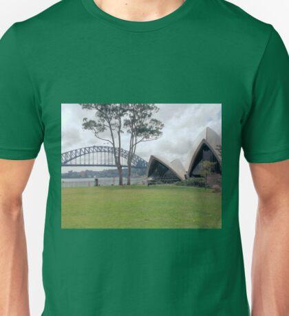 Opera House and Bridge Unisex T-Shirt