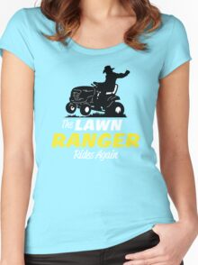 The Lawn Ranger Women's Fitted Scoop T-Shirt