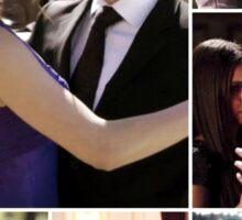 The Vampire Diaries- Damon & Elena Sticker