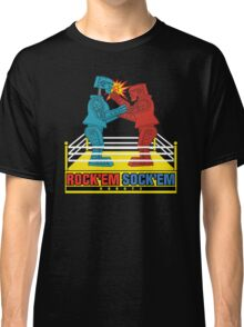 Rock'em Sock'em - 2D Original Punch Variant Classic T-Shirt