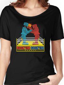 Rock'em Sock'em - 2D Original Punch Variant Women's Relaxed Fit T-Shirt