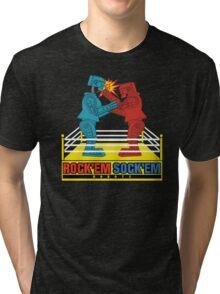 Rock'em Sock'em - 2D Original Punch Variant Tri-blend T-Shirt