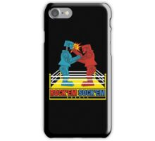 Rock'em Sock'em - 2D Original Punch Variant iPhone Case/Skin