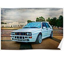 Lancia Delta HF Integrale Evoluzione Poster