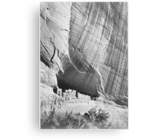 Ansel Adams - Pueblo Indians Metal Print