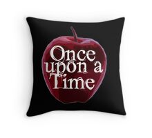 Once Upon A Time - Poison Apple Throw Pillow