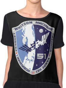 Expedition 51 Mission Patch Chiffon Top