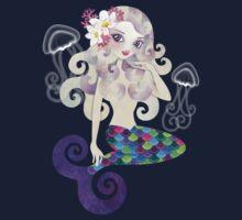 Amethyste Mermaid One Piece - Long Sleeve