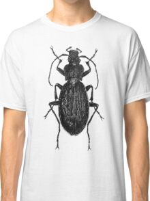 Victorian Style Drawing of a Beetle Classic T-Shirt