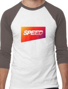 SpeedHunters - Gradient ''Speed'' Logo Men's Baseball ¾ T-Shirt