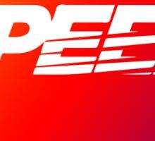 SpeedHunters - Gradient ''Speed'' Logo Sticker