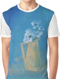 White poppies Graphic T-Shirt