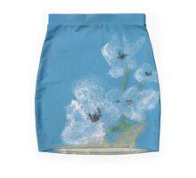 White poppies Mini Skirt