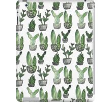Watercolor Cacti iPad Case/Skin