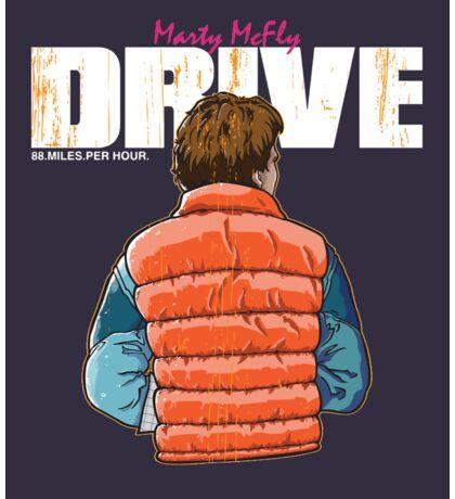 Back to the Future - Drive Sticker