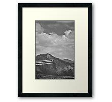 Thunderbirds in Colorado Springs #2 (Black and White) Framed Print