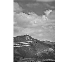Thunderbirds in Colorado Springs #2 (Black and White) Photographic Print