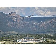 Thunderbirds in Colorado Springs #4 Photographic Print