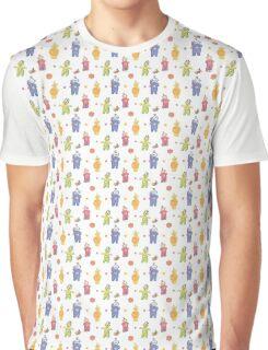 Teletubbies retro style Graphic T-Shirt