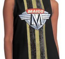 Maico Motorcycles Racing Stripe Contrast Tank