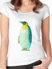 Zac the Penguin Women's Fitted Scoop T-Shirt