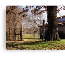 Red Hill Barn Canvas Print