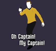 Oh Captain! My Captain! - James T. Kirk - Star Trek Unisex T-Shirt
